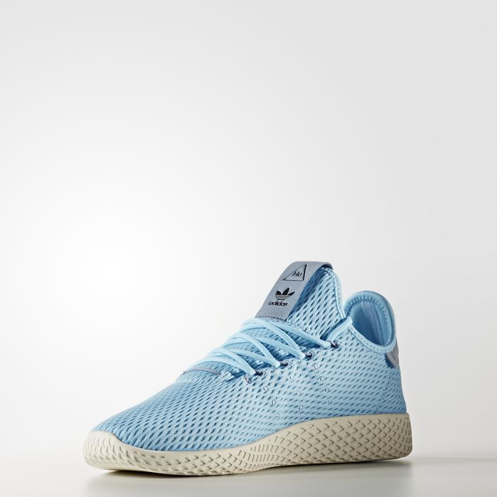 16fc94af65aa8 Pharrell Williams Tennis Hu Shoes Icey Blue 7 Mens