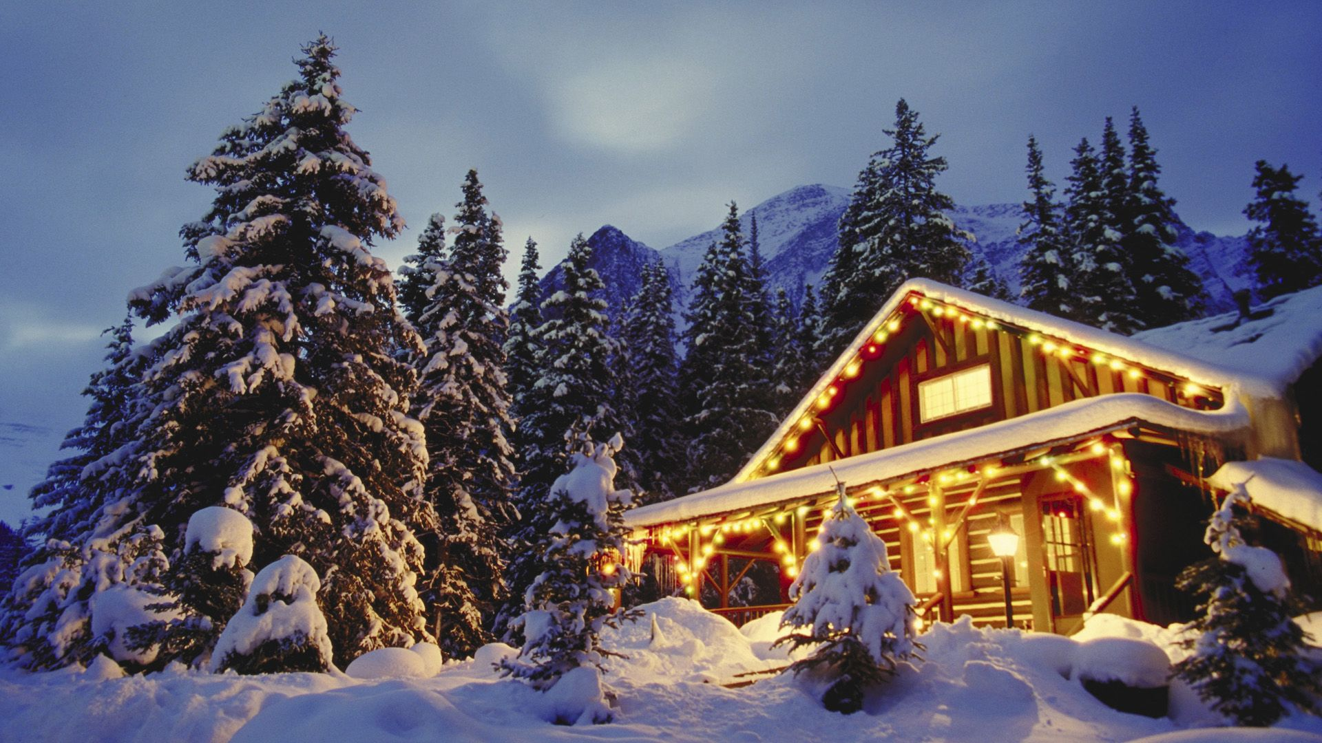 Frost Nature Frozen Cabins Wooden Trees Winter Cold Houses Nice Snow Evening Forest Slope Cottages Beautiful Winter Cabin Free Winter Wallpaper Winter Pictures