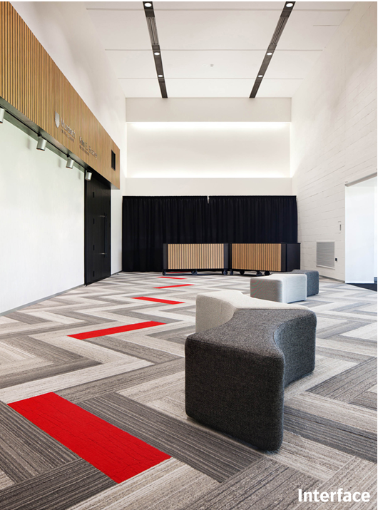 add a pop of colour with a stripe inspiration art on the floor rh pinterest com