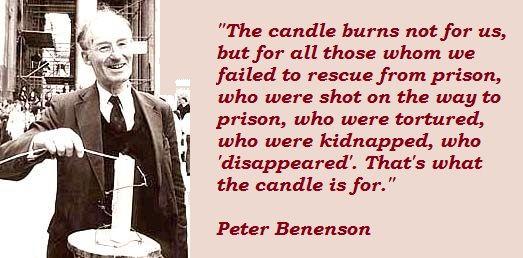 peter benenson biography