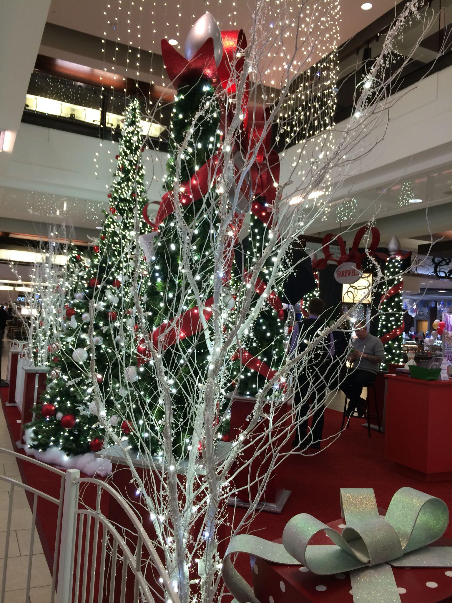 Kingsway Mall Edmonton Alberta Holiday Decor Christmas 2015 Christmas Seasons