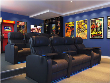 5 Tips To Select Great Home Theater Seating Home Cinema Room