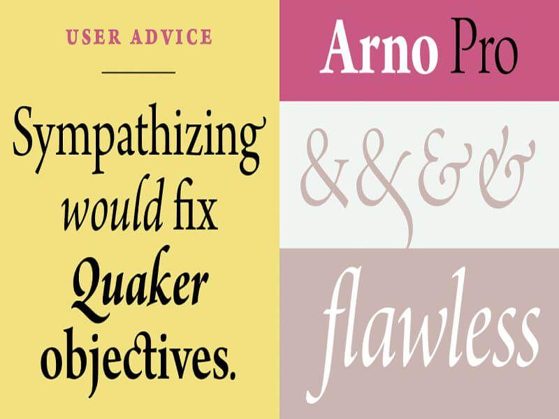 Arno Pro Font Free Download - Fonts Empire | Arno Pro Font
