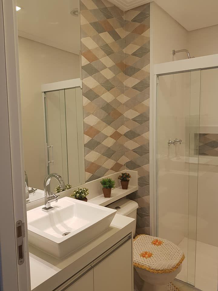 Pin de j ssica garcia en banheiro pinterest ba os for Banos modernos para apartamentos pequenos