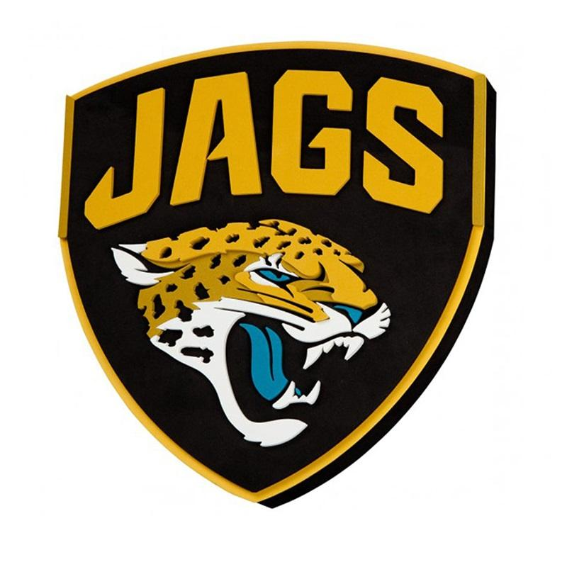 Jacksonville Jaguars Sign 3d Foam Logo Jaguar Sign Jaguars Jacksonville Jaguars