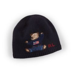 4ccc591a3458f4 Knit Bear Merino Wool Hat - Boys 2-7 Hats, Gloves & Scarves -  RalphLauren.com
