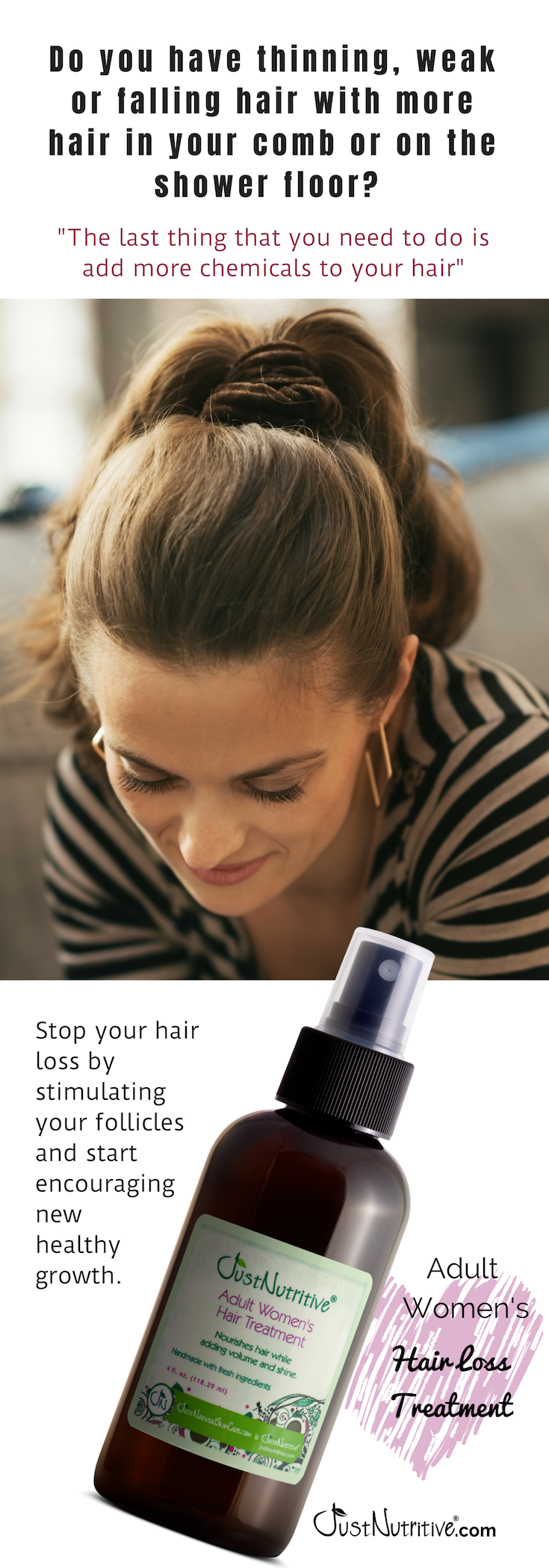 Do you have thinning, weak or falling hair with more hair ...