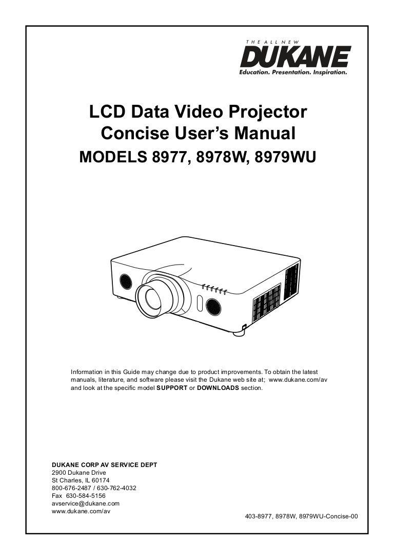 dukane-8977-89798979-user-manual by dukaneavmarketing via slideshare