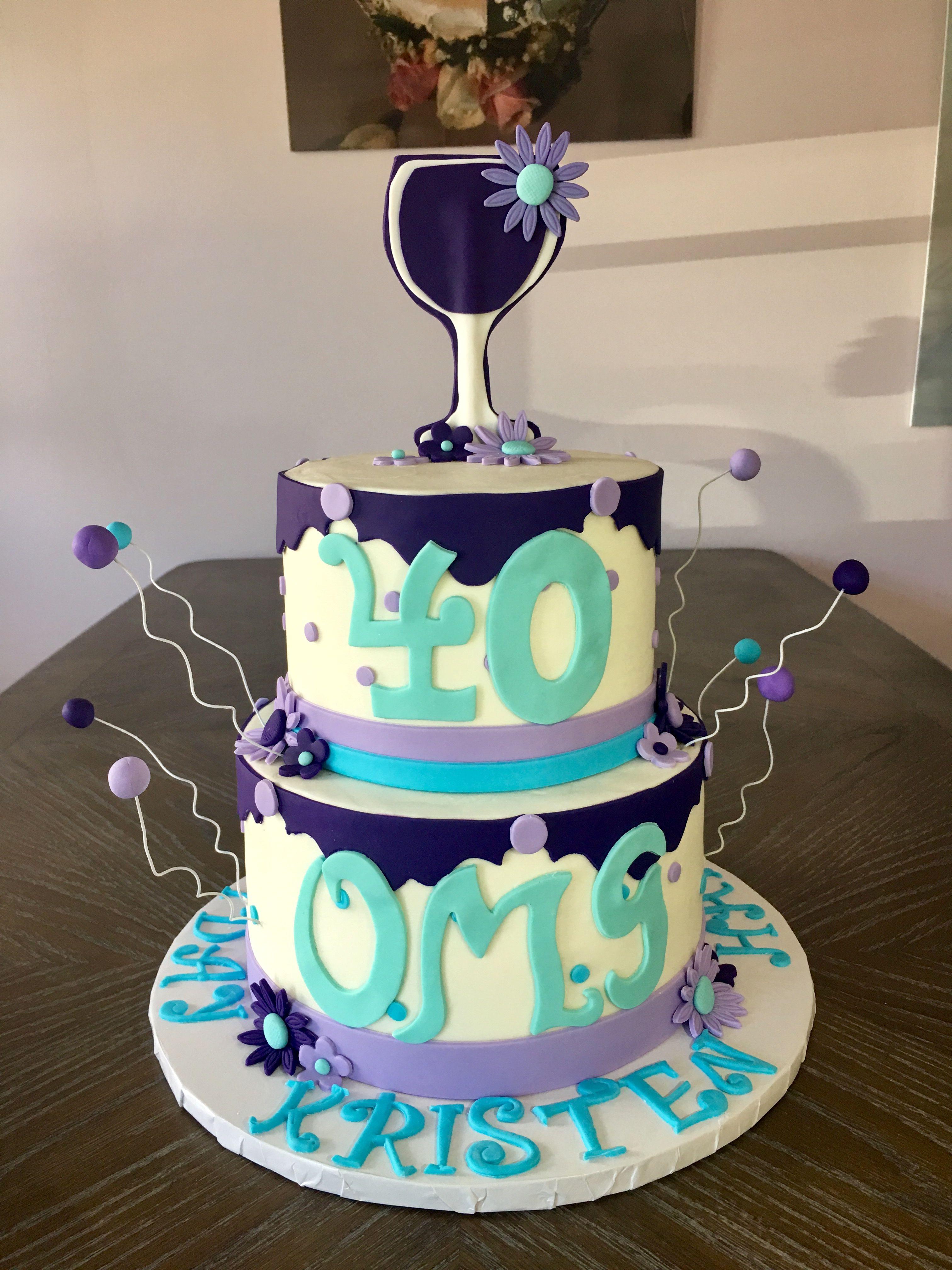 40th birthday cake 40th birthday cakes celebration