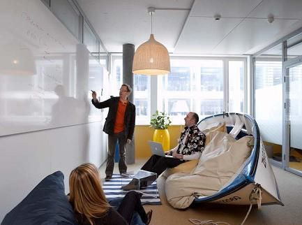 cool in a beach house tour through google office for the home rh pinterest com