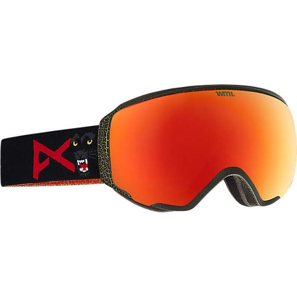 12efa6db842 Anon WM1 Snow Goggles Meow With Red Solex   Blue Lagoon Lens -- Awesome  products selected by Anna Churchill