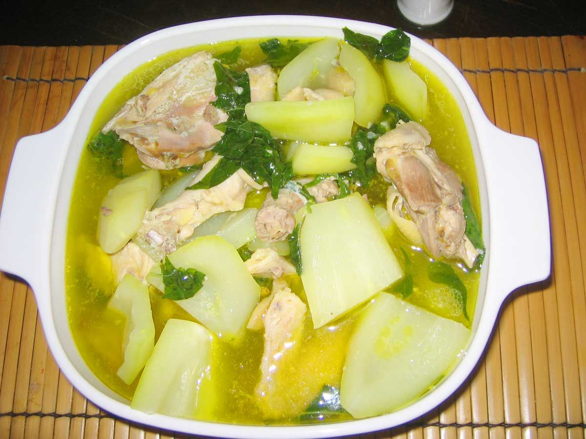 Chicken sayote filipino recipe