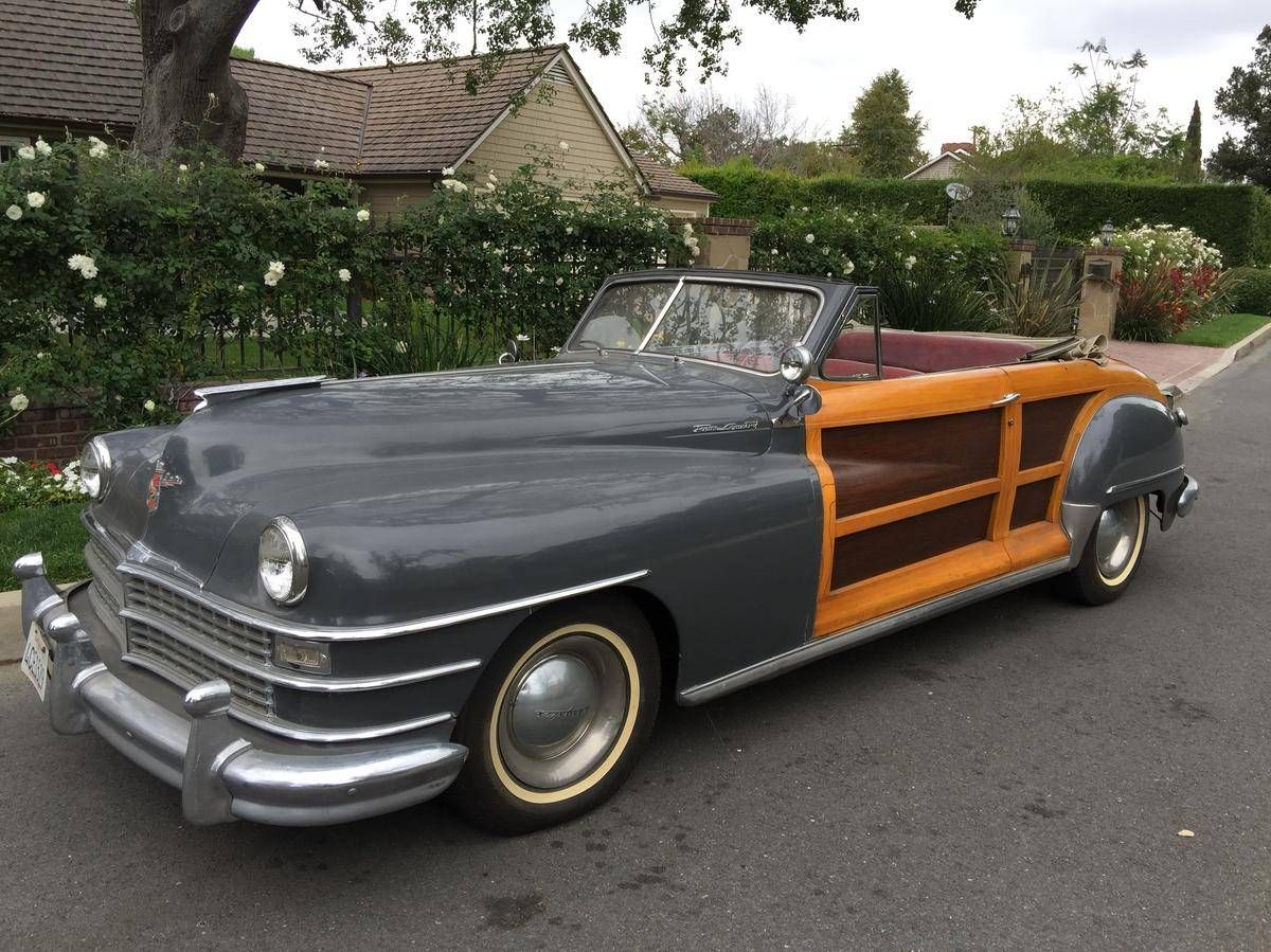 1948 Chrysler Town Country For Sale 1844777 Hemmings Motor News Chrysler Town And Country Chrysler