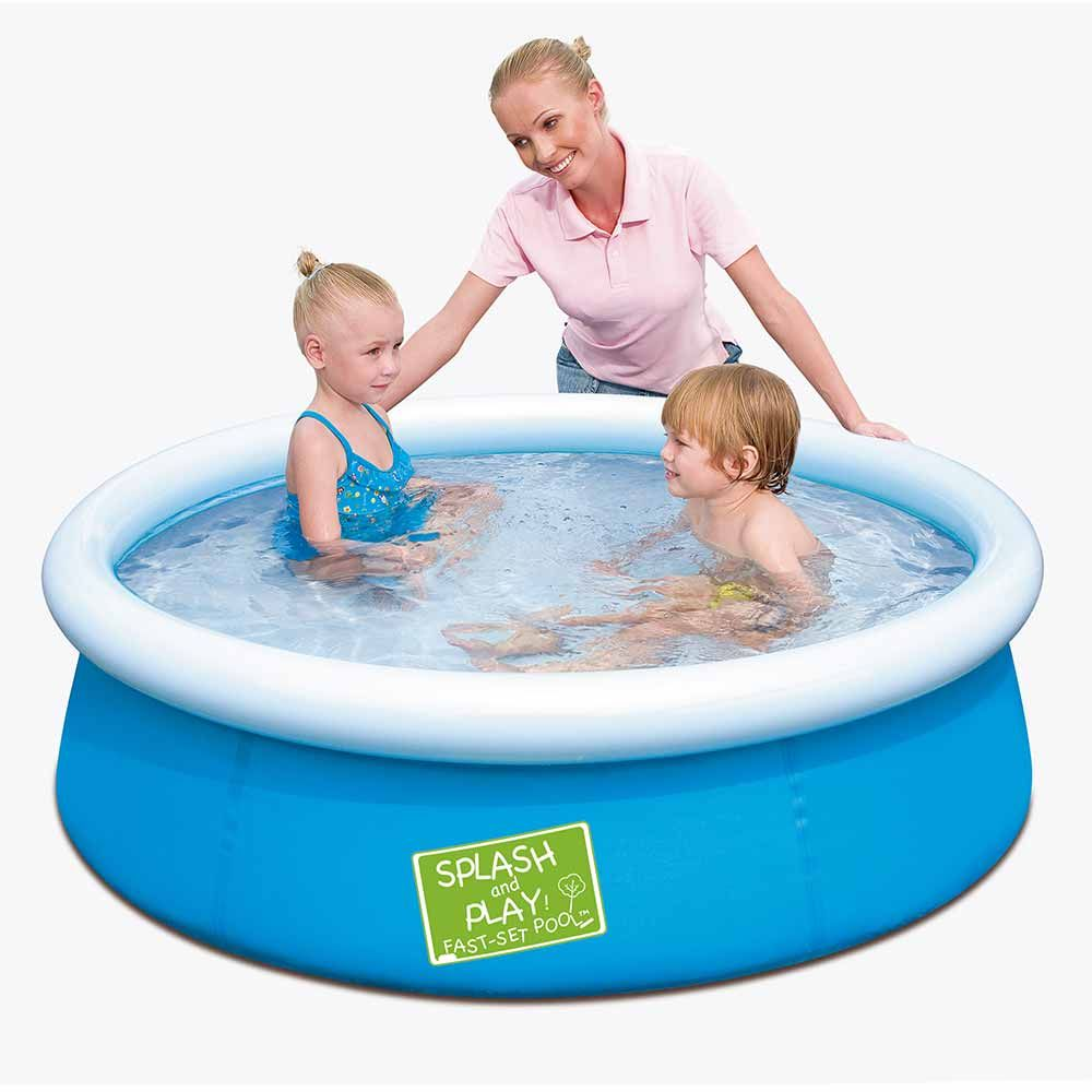 Splash And Play Fast Set Child S My First Swimming Pool Kiddie