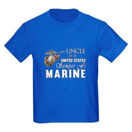 My Uncle Is A Semper Fi Marine T Shirt Great For Nieces