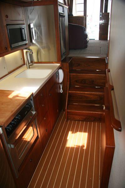 Danish Craftsman Soren Hansen Gallery Boat Interior Boat