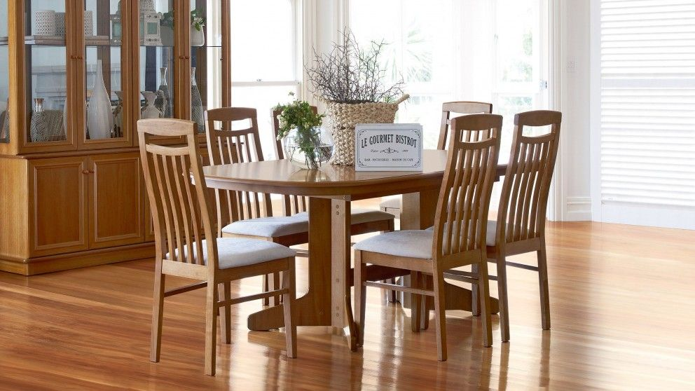 tuscan 7 piece extension dining setting dining furniture dining rh pinterest ca