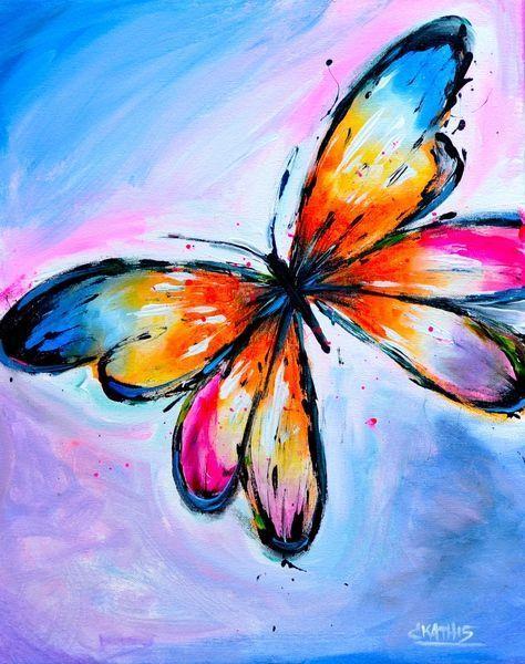 Best 10 Butterfly Painting Ideas On Pinterest Butterfly Art Simple Canvas Paintings Butterfly Painting Butterfly Painting Easy