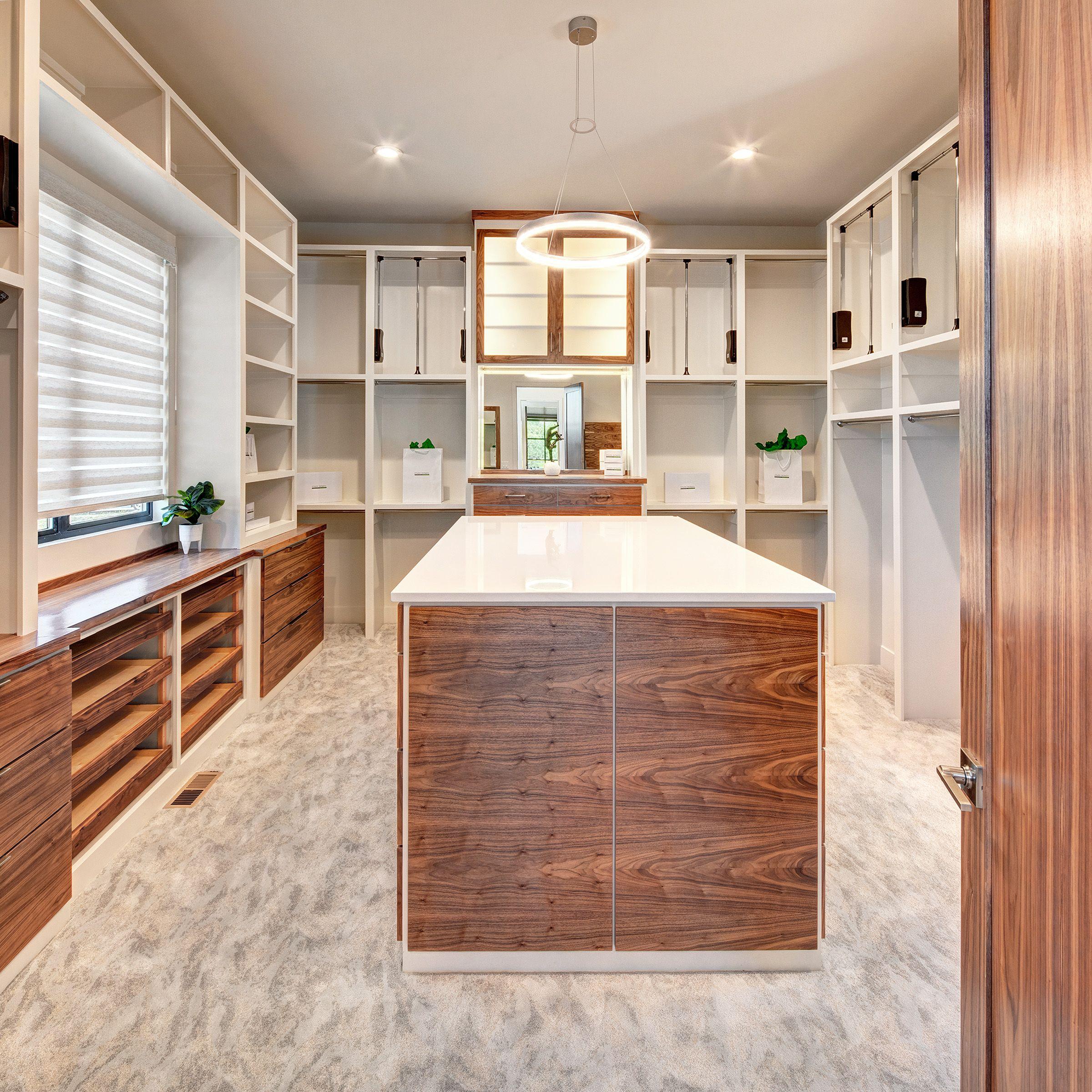 Huge master closet home luxury house plans interior