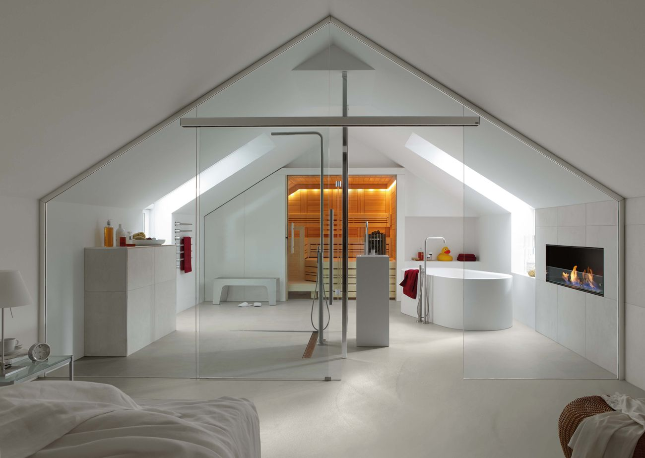 Porte interne mansarda badezimmer dachgeschoss for Porte per mansarda