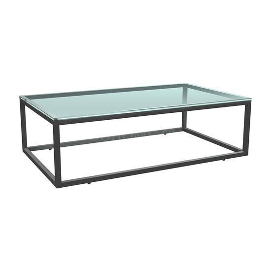 茶几 不锈钢框架+玻璃 229-105547 W1219*D711*H381mm