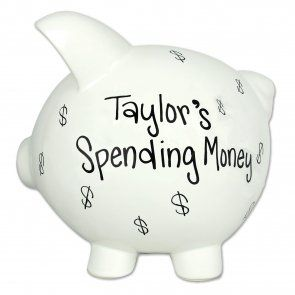 Grown Up S Piggy Bank 27 99 Piggy Bank Large Piggy Bank Personalized Piggy Bank