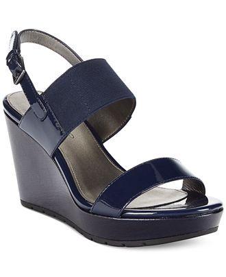 Bandolino Annika Platform Wedge Sandals - Wedges - Shoes - Macy's