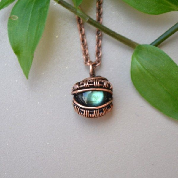 Eclectic wire wrapped jewelry and more #copperwirewrappedrings ...
