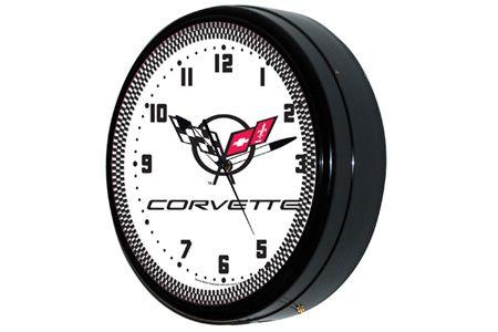 C5 Corvette 20 Neon Wall Clock Corvette Clock Clock Wall Clock