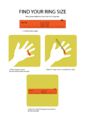 How To Find Your Ring Size Printable Ring Sizer Ring Size Measure Ring Size
