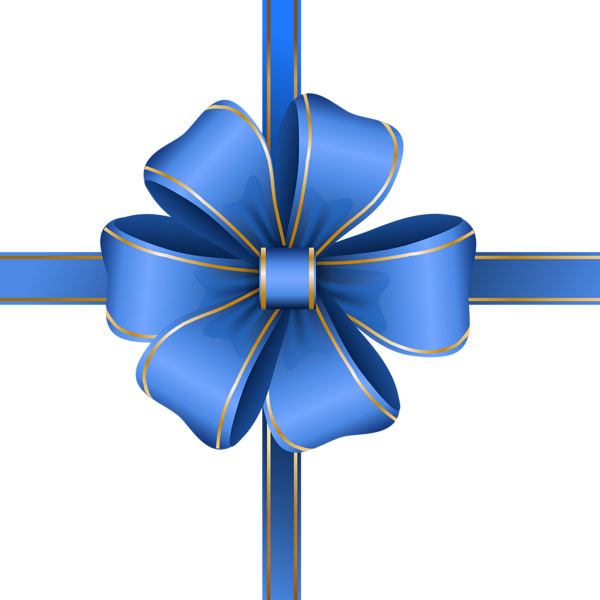 Decorative Blue Bow Transparent Png Clip Art Image Gift Bows Ribbon Bows Blue Gift