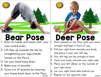 woodland kids yoga  yoga for kids yoga physical activities