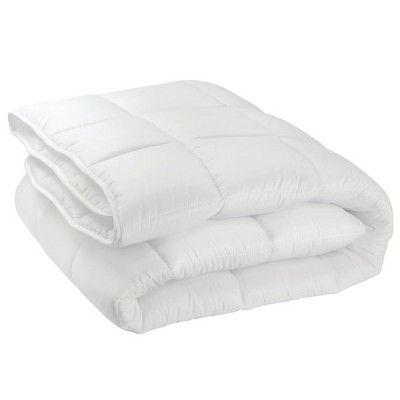 Photo of mDesign Full/Queen Down Alternative Quilted Duvet Insert, Comforter – White, Size: 1 pack