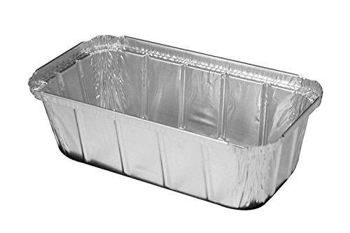 Nicole Home Aluminum Foil Disposable Baking Bread Cooking 3 Lb