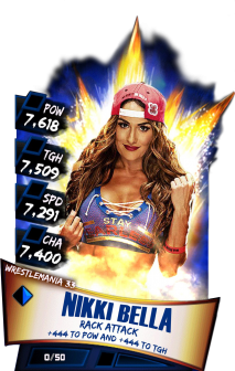 Wrestlemania 33 Cards 52 Wwe Supercard Cards Catalog S2 S3