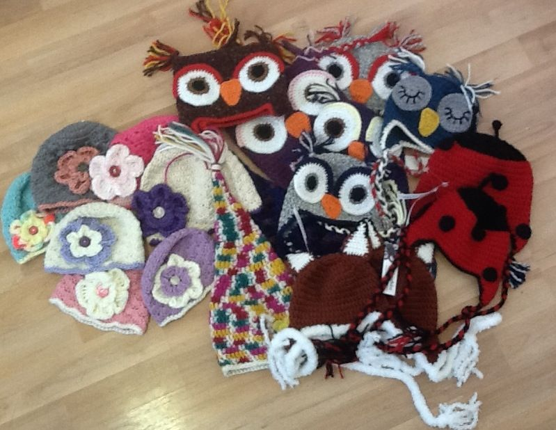 Owl hats and more!