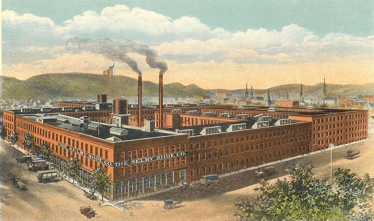 Selby shoe factory portsmouth ohio about 1919 opened in 1906 and selby shoe factory portsmouth ohio about 1919 opened in 1906 and in 1957 sciox Images