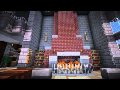 Minecraft Furniture - Fireplaces | Minecraft | Pinterest