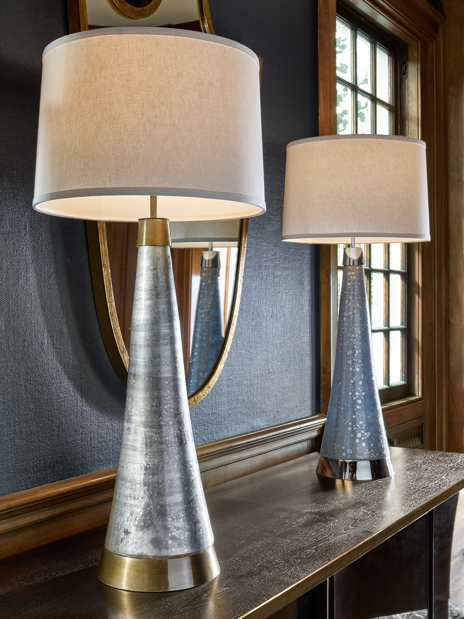 Blakley lamps in two finishes by mr brown london lookbook elle blakley lamps in two finishes by mr brown london lookbook elle decor geotapseo Choice Image
