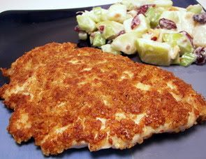 Culinary in the Desert: Spicy Pecan-Crusted Chicken This sounds delicious-E