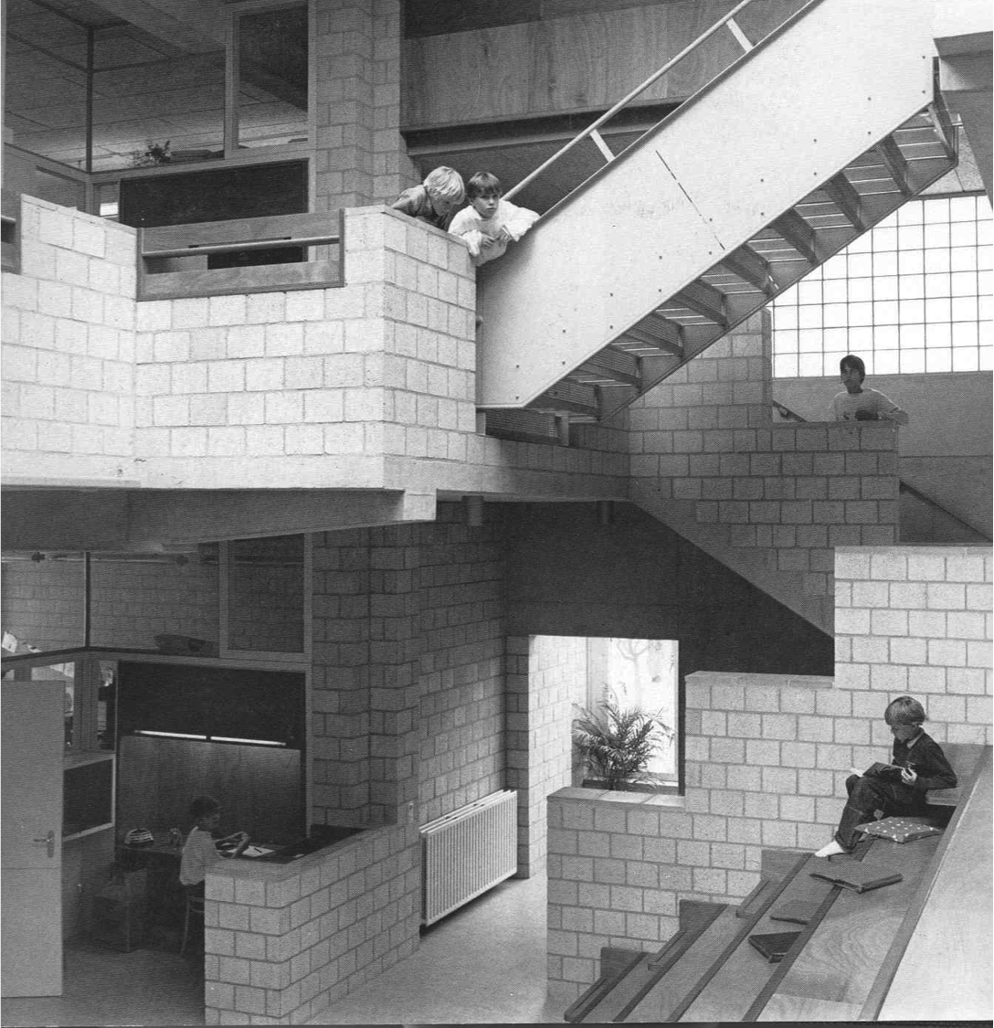 Details Apollo School Herman Hertzberger Amsterdam 1981