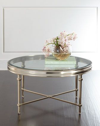 Genial Silas Round Coffee Table