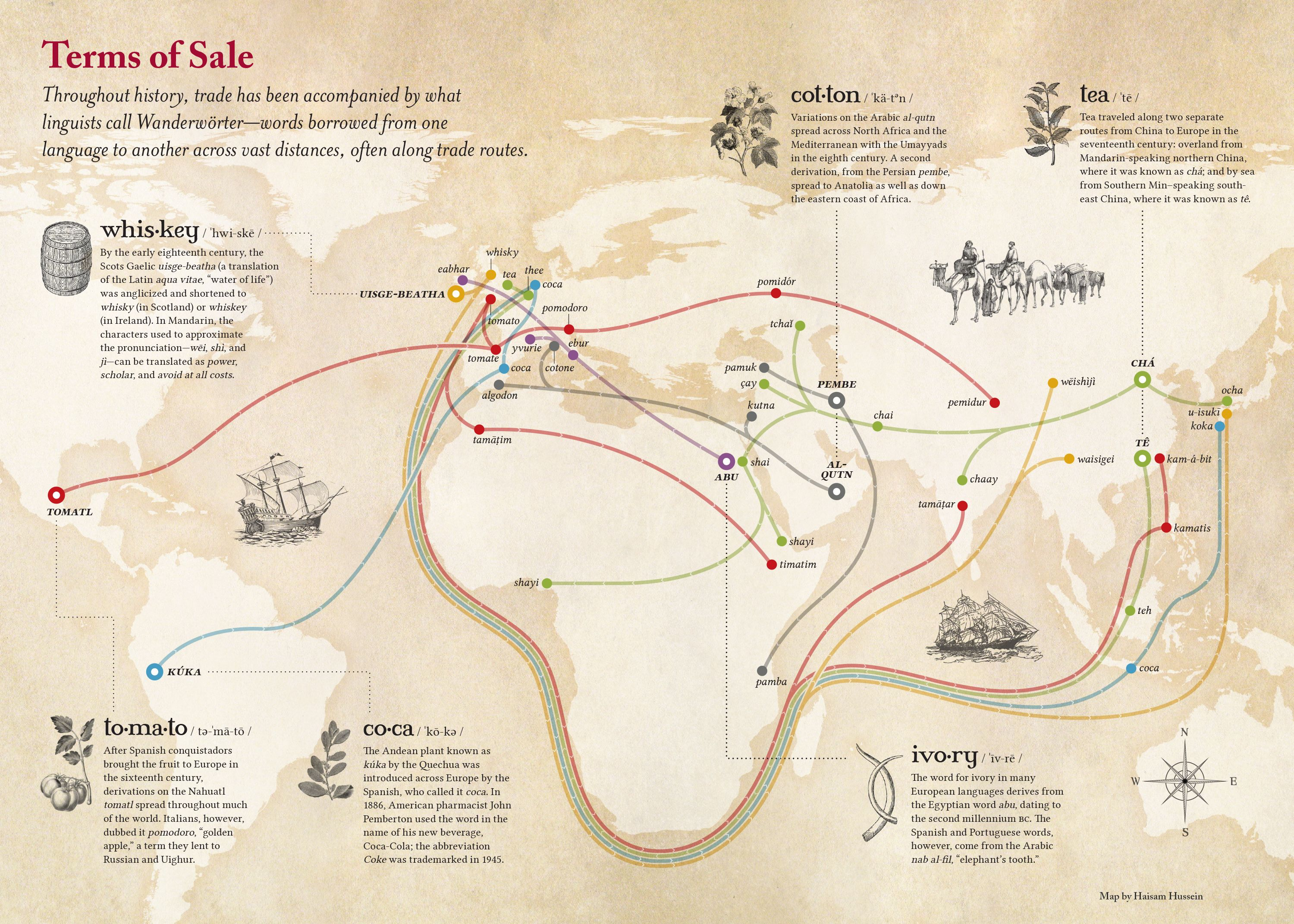 Terms Of Salethe Words That Traveled With Trade Map New Words
