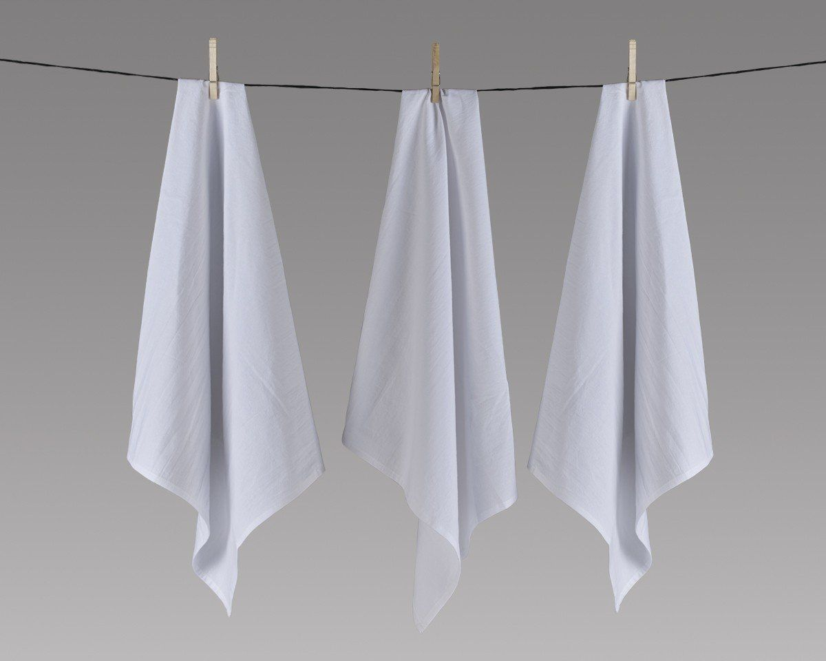 Flour Sack Towels 27 X 27 Inches Set Of 12 100 Cotton Highly