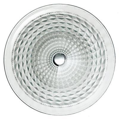 Kohler Kallos Undermount Glass Bathroom Sink In Ice