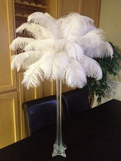 Silver Vase Centerpiece