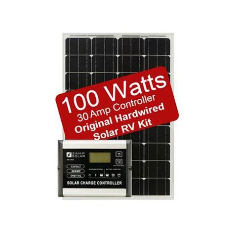 Rv Solar Kit Zamp Solar 100w Deluxe Kit Campervan Hq Rv Solar Solar Kit Rv Solar Power