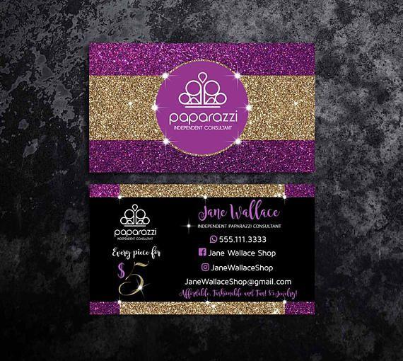 purple paparazzi business cards paparazzi jewelry accessories