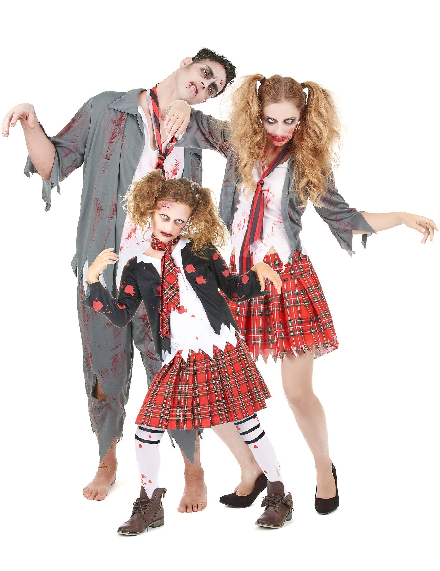 Zombie Girl Halloween Effrayant sorcière robe fantaisie La zombets costume de poupée tenue