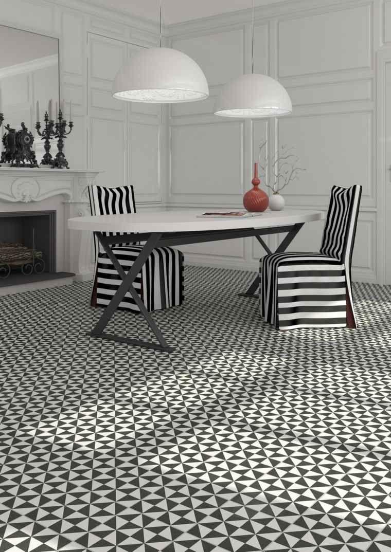 Carrelage Noir Et Blanc Tres Chic Des Idees Originales A En Etre
